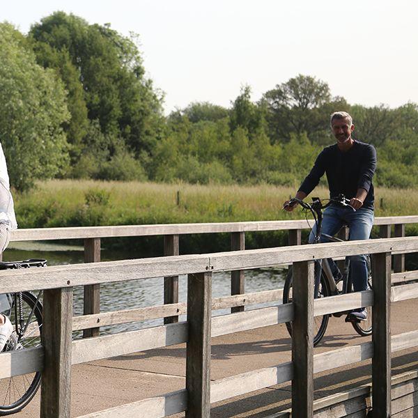 De elektrische fiets van Amslod